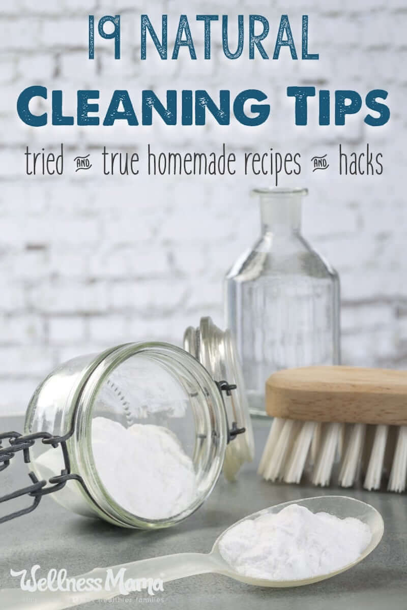 Natural Cleaning Tips  Recipes  Wellness Mama