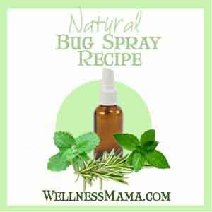 wellness mama natural bug spray recipe
