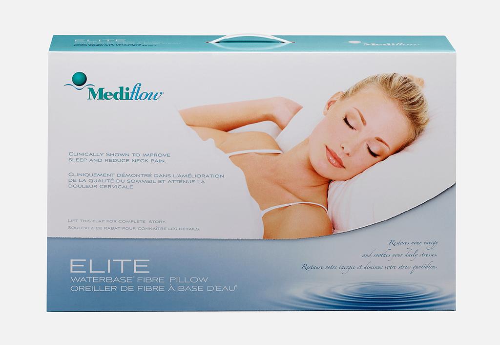 mediflow water pillow elite