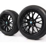 Bmw Summer Wheels 3er F30 F31 4er F32 F33 F36 18 Zoll 405 M Performance Double Spoke Schwarz