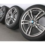 Bmw Summer Wheels 3er F30 F31 4er F32 F33 F36 18 Zoll 441m Double Spoke Ferricgrey