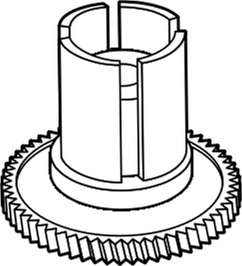 VDG0189 Panasonic Intermediate Gear (A), Vcr Parts