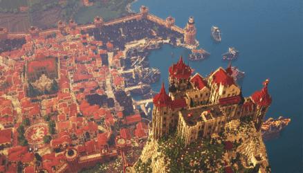 Epic Minecraft Medieval City 5