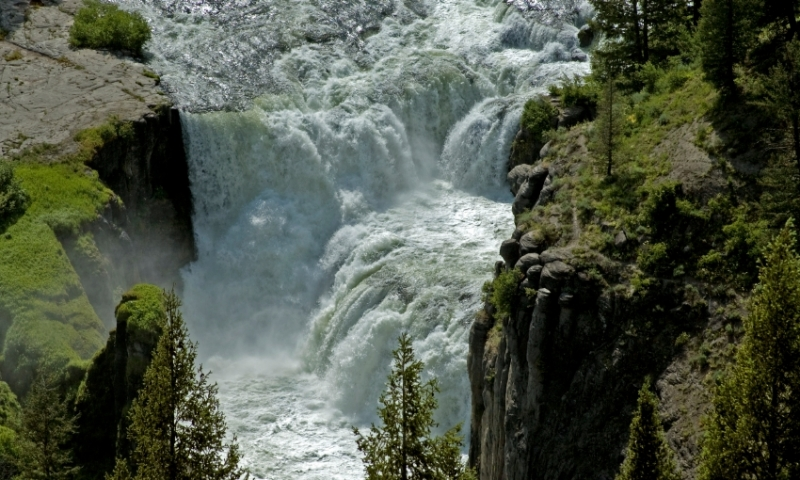 Mesa Falls Idaho Lodging