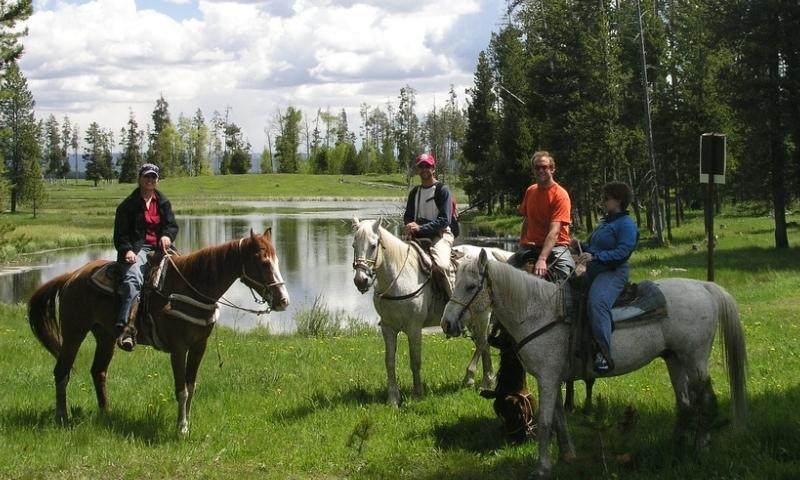 West Yellowstone Horseback Riding Horse Trail Rides