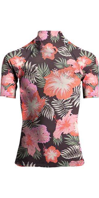 31e30011758 Billabong Flower Short Sleeve Rashguard – Hawaii – Sun Surf Tees