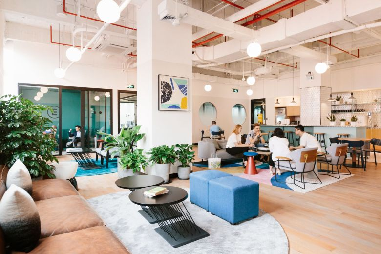 11 Financial Street Coworking Office Space | WeWork Beijing