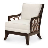 Palecek Carlo Lounge Chair 7122 Rattan Wicker Furniture