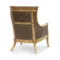 Palecek Dunhill Lounge Chair 7376 Rattan Wicker Furniture