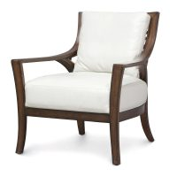 Palecek Georgio Lounge Chair 7932 Rattan Wicker Furniture