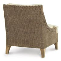 Palecek Hampton Lounge Chair 7184 Rattan Wicker Furniture