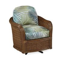 Braxton Culler Somerset Swivel Chair 953-005 | Rattan ...