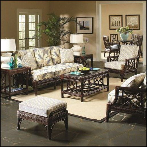 the sofa factory reviews how to fix seat cushions braxton culler st augustine dining set 1974-075   rattan ...