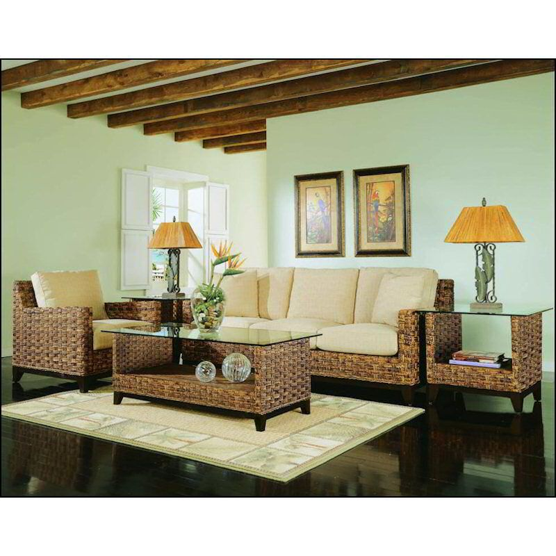 white wicker sofa for sale 3 seater set olx kenya braxton culler tribeca end table 2960-071   rattan ...
