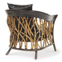 Palecek Adelaide Lounge Chair 7423 Rattan Wicker Furniture