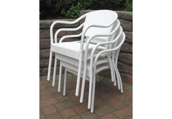 resin wicker bistro chair