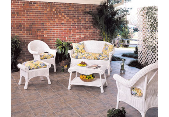 wicker 3 piece replacement cushion set popular size