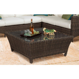 outdoor wicker coffee tables cocktail