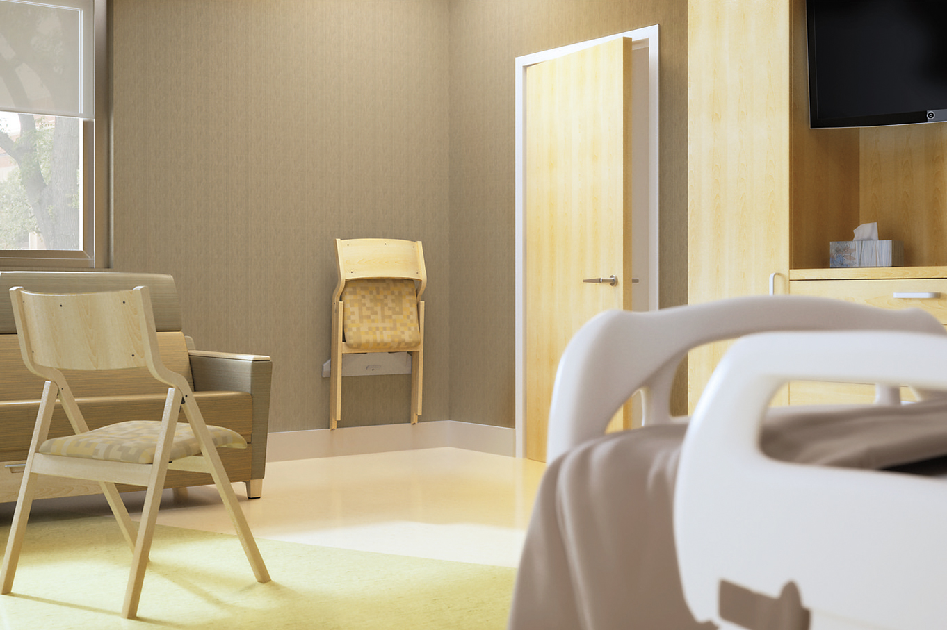 plyfold  smartrail  Wieland Healthcare Furniture