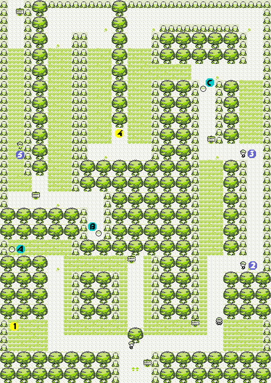 Pokmon Red and BlueViridian Forest  StrategyWiki the