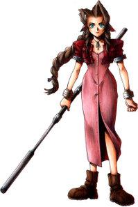 Aeris Final Fantasy VII - Disc 1