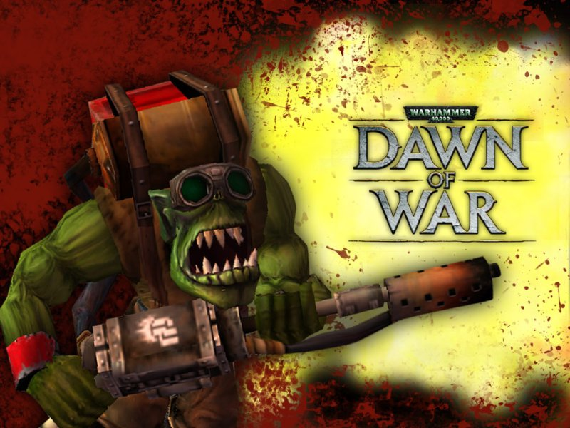 Fall Out Boy Game Wallpaper Warhammer 40 000 Dawn Of War Orks Strategywiki The