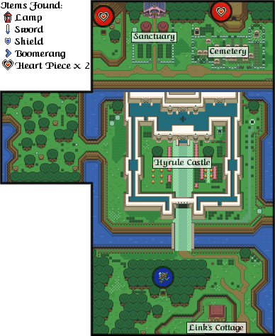 The Legend Of Zelda: A Link To The Past : legend, zelda:, Legend, Zelda:, Past/Hyrule, Castle, StrategyWiki,, Video, Walkthrough, Strategy, Guide