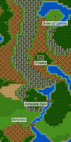 Dragon Quest 3 Map : dragon, quest, Dragon, Warrior, III/Dhama, StrategyWiki,, Video, Walkthrough, Strategy, Guide