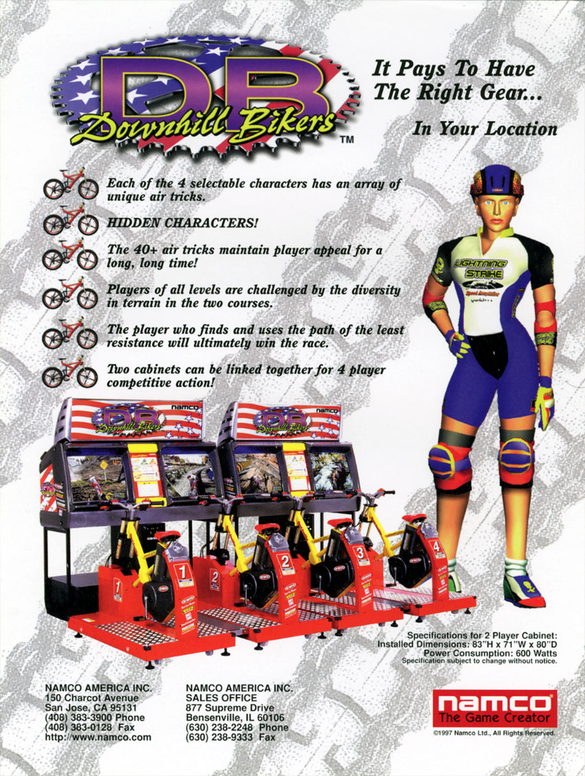 Downhill Bikers  StrategyWiki the video game walkthrough