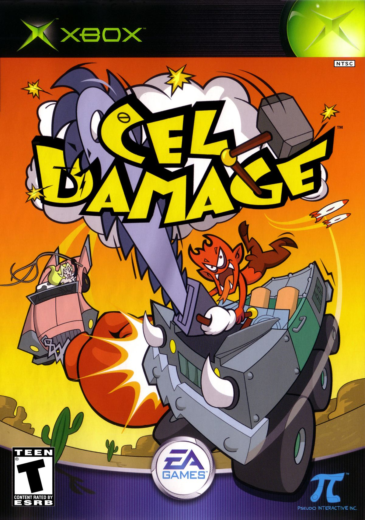 Cel Damage  StrategyWiki the video game walkthrough and