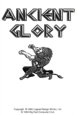 Ancient Glory — StrategyWiki, the video game walkthrough