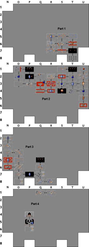 Zelda Level 9 Map : zelda, level, Legend, Zelda, Level, World, Atlas