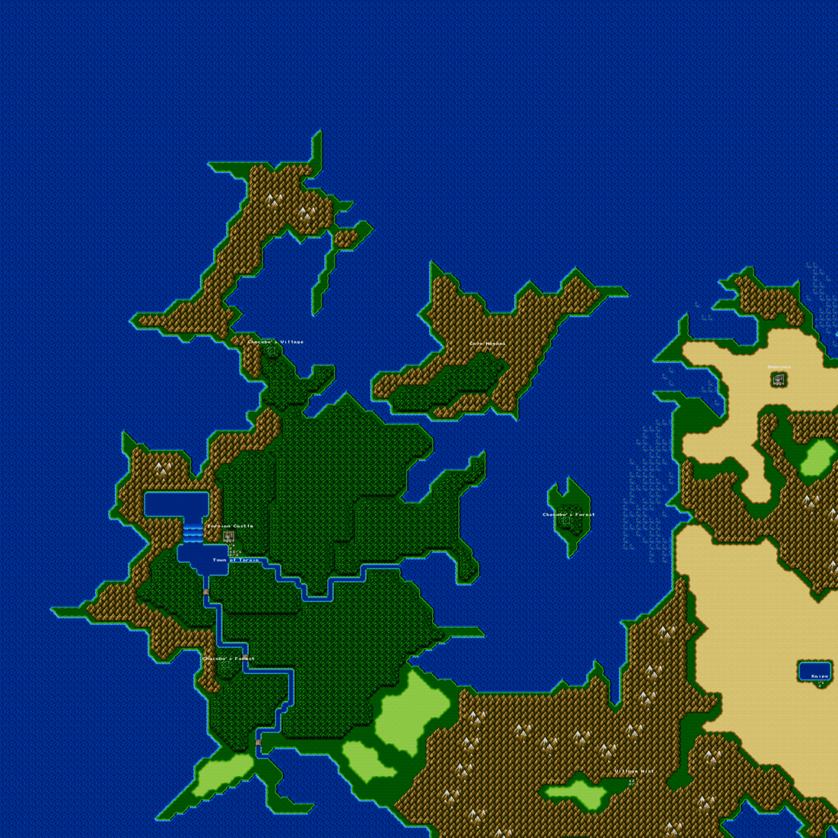 Final Fantasy IVLocations  StrategyWiki the video game