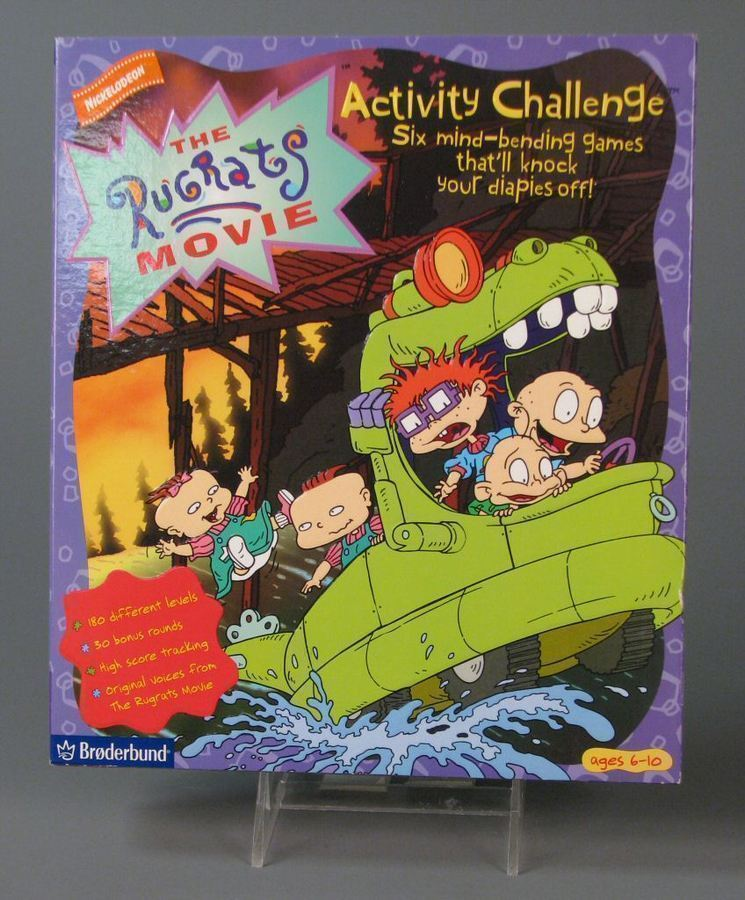 The Rugrats Movie Activity Challenge  StrategyWiki the