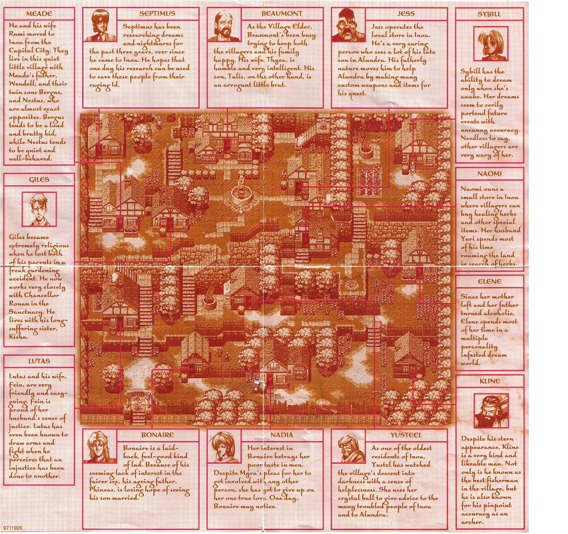 The Adventures of AlundraInoa Village  StrategyWiki the video game walkthrough and strategy