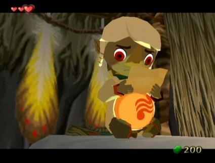 The Legend of Zelda The Wind WakerDragon Roost Island
