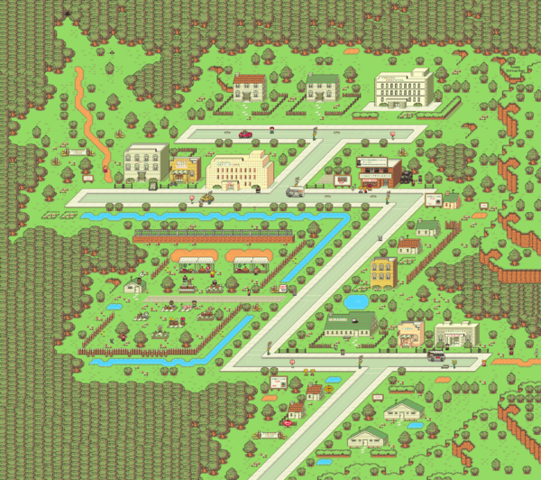 Timeline Wallpaper Hd Earthbound Twoson Strategywiki The Video Game