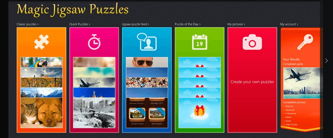 magic jigsaw puzzles for