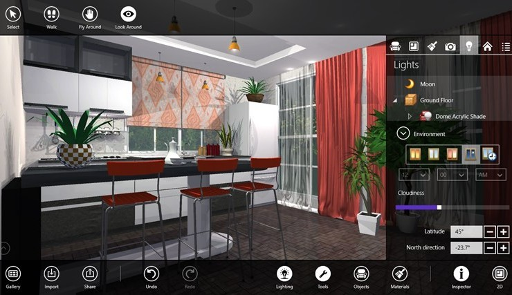 Design your House With Live Interior 3D App for Windows 8 10