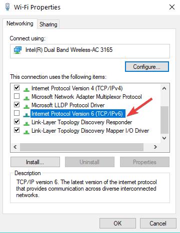 disable IPv6