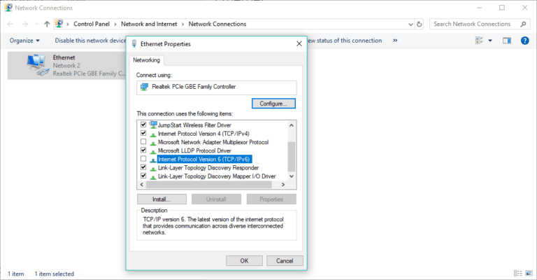 WiFi adapter not working in Windows 10