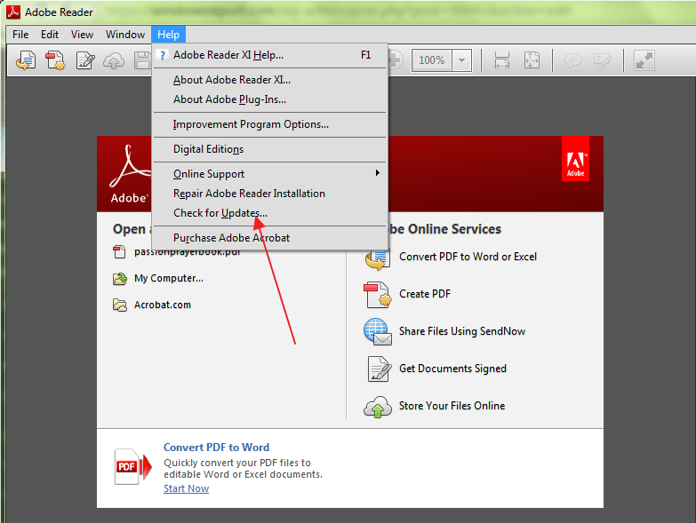 Your quick Fix to 'Windows 10 cannot open PDF files in Adobe Reader'
