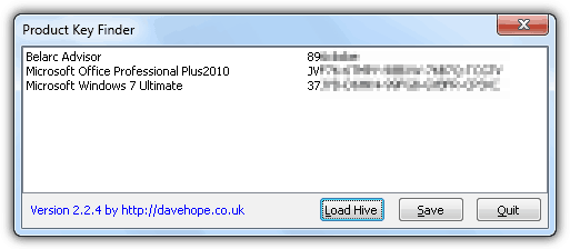product key finder windows 10