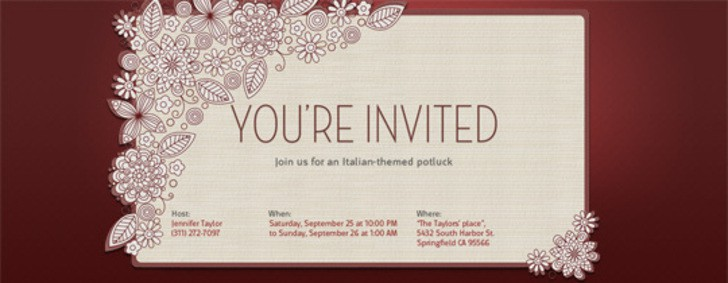 Printable Wedding Invitation Designs