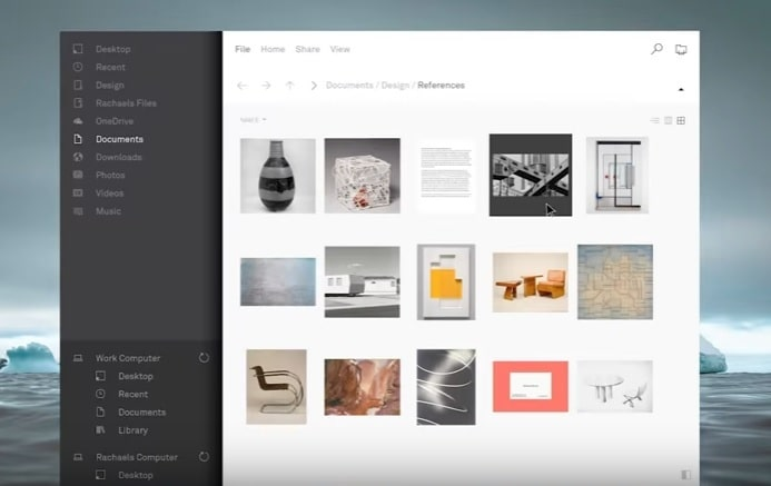 Fall Creators Update Wallpaper Microsoft S Fluent Design System Revamps File Explorer