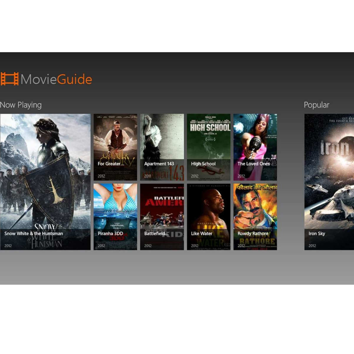 Download Movie Guide app to turn your PC into a movie database