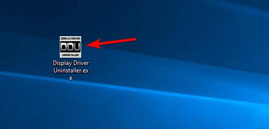Display Driver Uninstaller Safe Mode