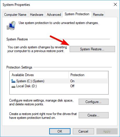Windows Defender quick scan not working