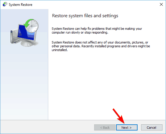 Windows Defender your PC couldn't be scanned