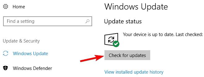 Windows Defender not working Windows 10